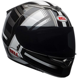 CASQUE NEUF BELL RS-2 GLOSS BLACK WHITE TITANIUM TACTICAL