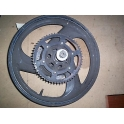 ROUE  ARRIERE  COMPLETE POUR  YAMAHA 125 TDR TYPE 4FU 5AE